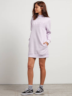 Vestido Burn City Flc Dre - Light Purple