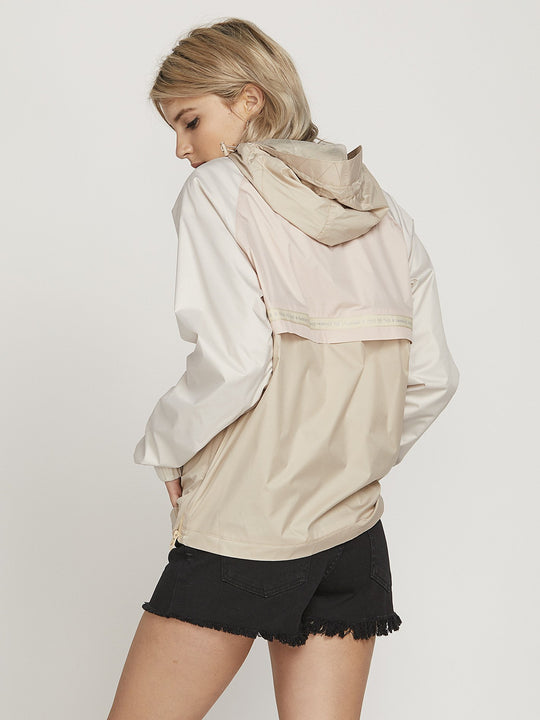 Chaqueta Volbreaker - Oxford Tan