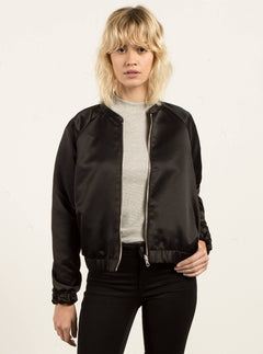 Chaqueta Bomber Reversible Beat Beach  - Black