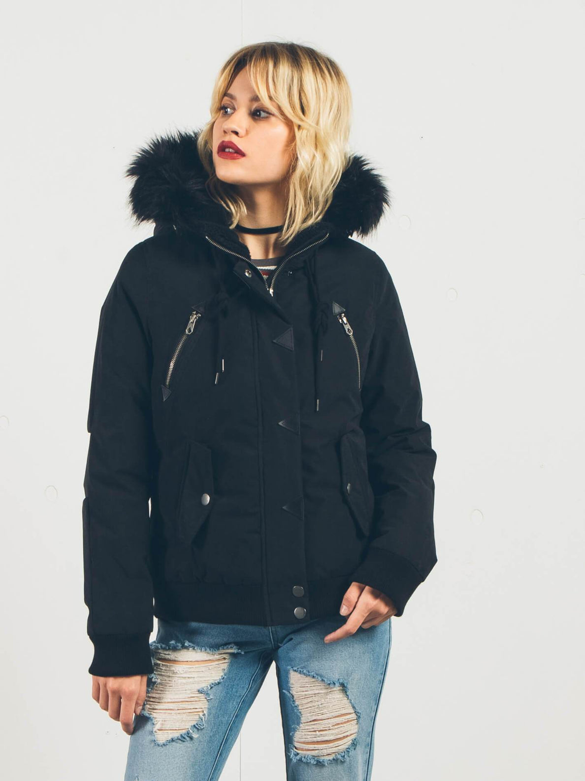 Parka Set List - Black