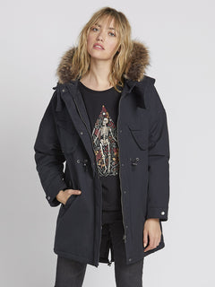 Parka Rainy Shiny 5K - Black (B1531959_BLK) [1]