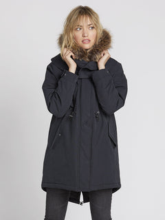 Parka Rainy Shiny 5K - Black (B1531959_BLK) [2]