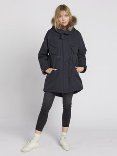 Parka Rainy Shiny 5K - Black (B1531959_BLK) [6]