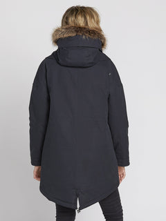 Parka Rainy Shiny 5K - Black (B1531959_BLK) [B]