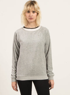 Sudadera De Cuello Redondo Gotta Crush - Heather Grey