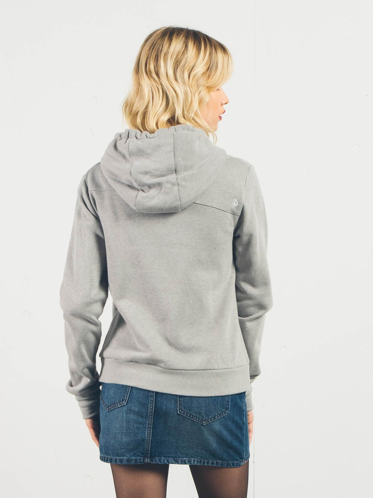 Sudadera Walk On By con cremallera - Heather Grey