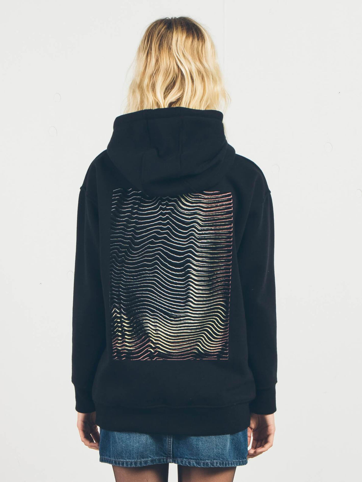 Sudadera Burn City - Black