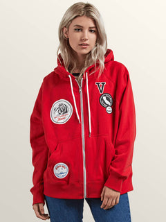 Sudadera Travel Ban Hoodie - Rad Red