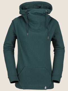 Sudadera Walk On By High Neck - Evergreen