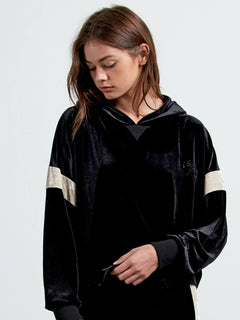 Sudadera Pull It 2Gether Flc - Black