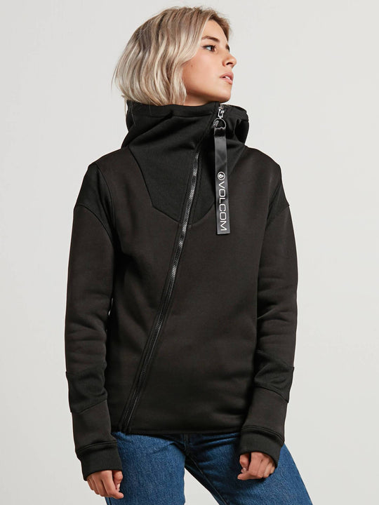 Sudadera Walk On By Tech - Black