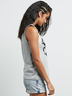 Camiseta sin Mangas Pure Stone - Heather Grey