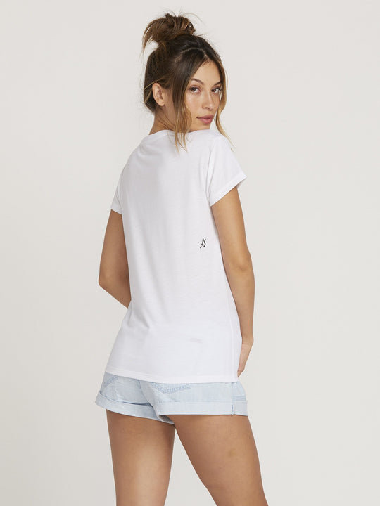 Camiseta Easy Babe Rad - White