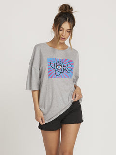 Camiseta Stone Splif - Heather Grey