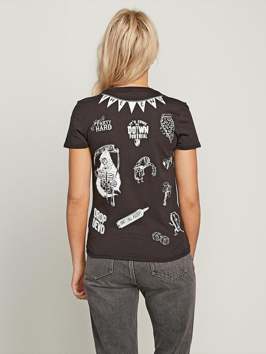 Camiseta Last Party Tee - Black