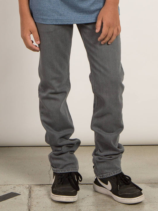 Big Boys Vorta Slim Fit Jeans - Power Grey (Niňo)