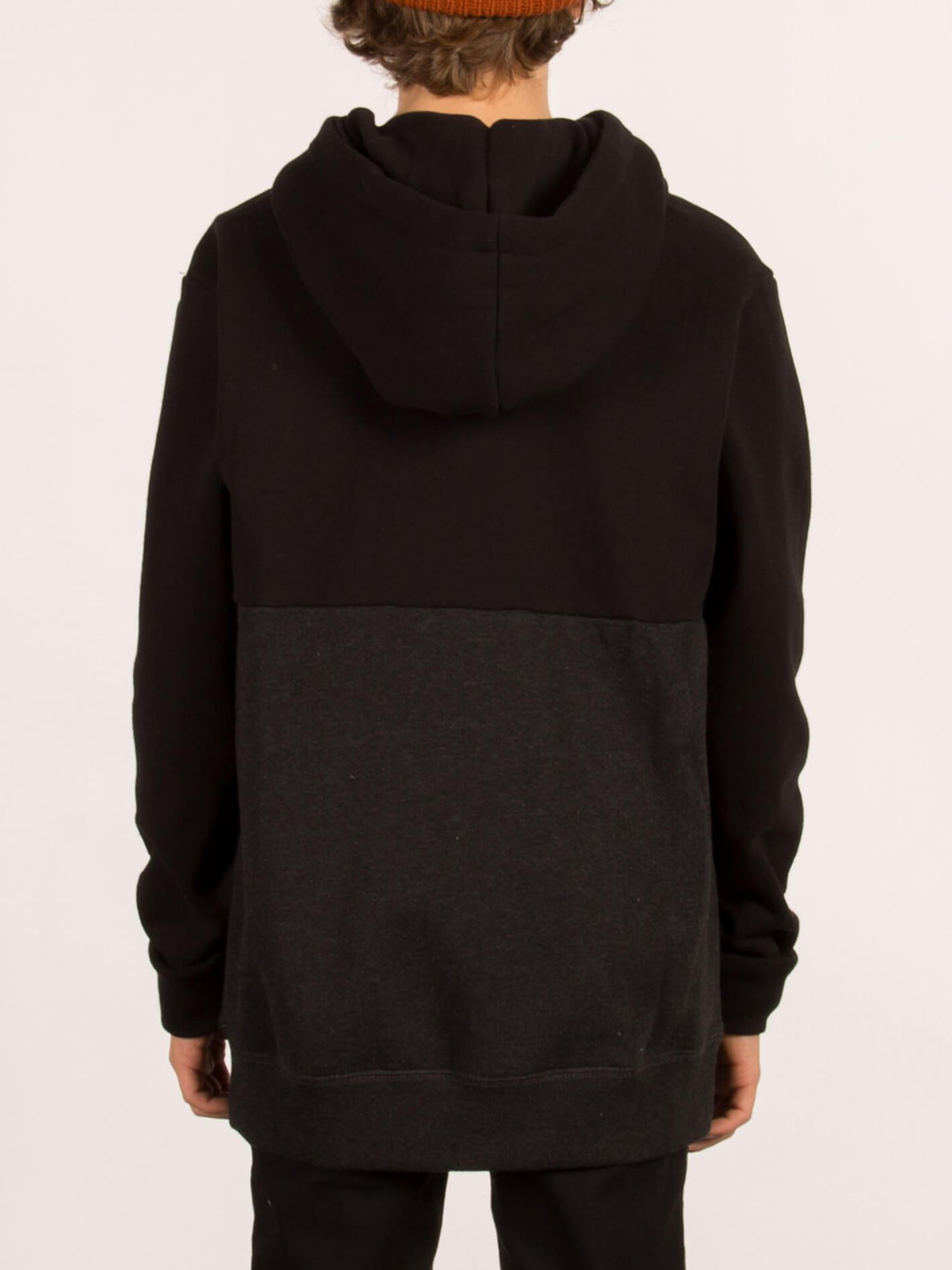 Single Stone Division Hooded Pullover - Black (Niňo)