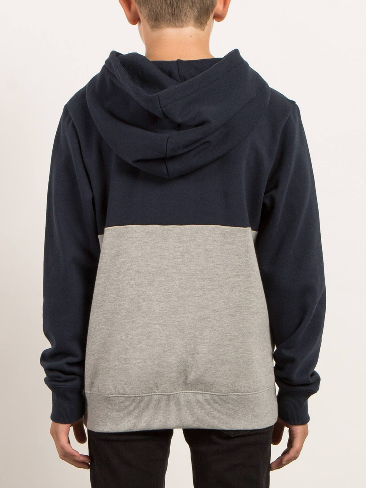 Single Stone Division Hooded Pullover - Navy (Niňo)