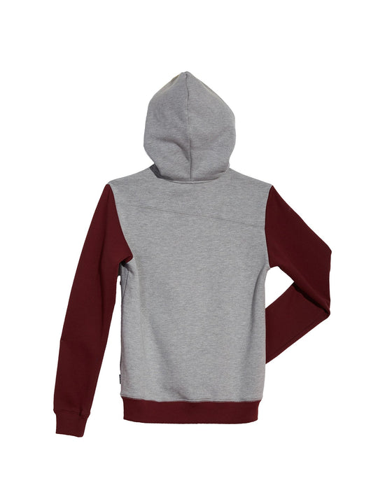 Single Stone Division Zip Hoodie - Grey (Niňo)