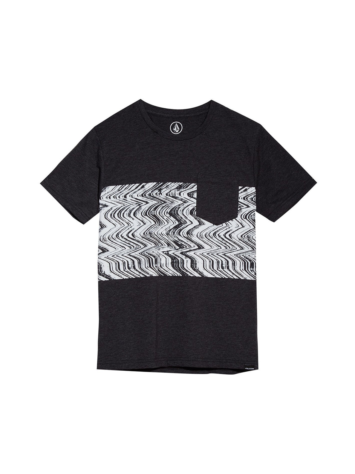 Lofi Short Sleeve Tee - Heather Black (Niňo)