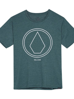 Pinline Stone Heather T-shirt - Pine (Niňo)