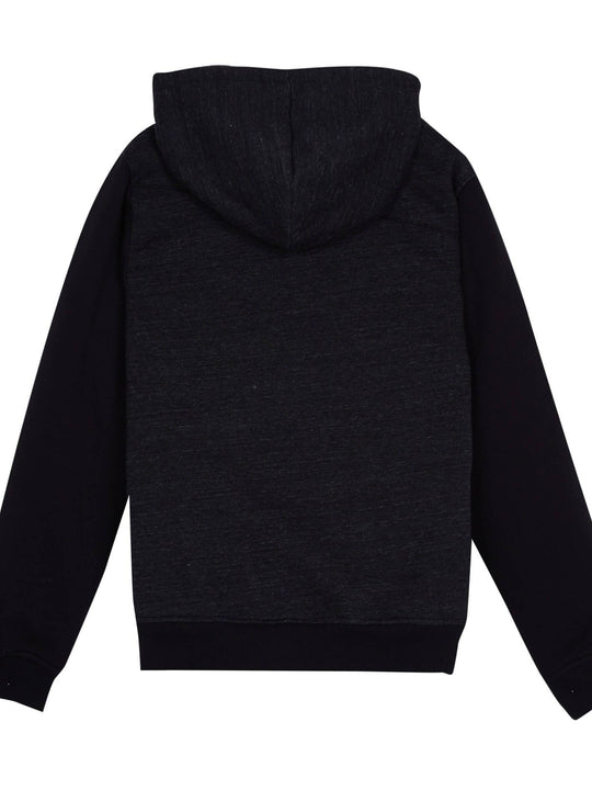 Single Stone Lined Zip Sweaters - Sulfur Black (Niňo)