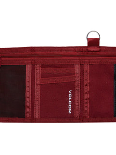 Cartera Full Stone Cloth Wlt - Crimson