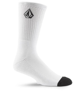 Full Stone Sock (3 Pack) - White (D6321800_WHT) [B]
