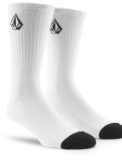 Full Stone Sock (3 Pack) - White (D6321800_WHT) [F]