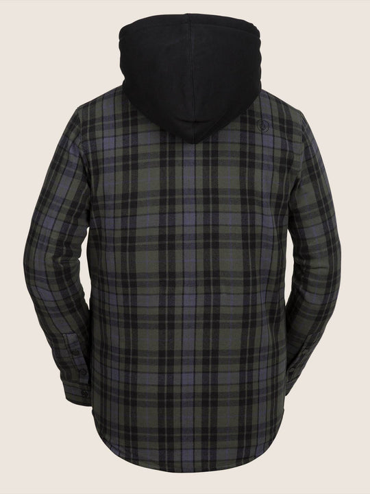 Chaqueta de snow Field Ins Flannel - Black