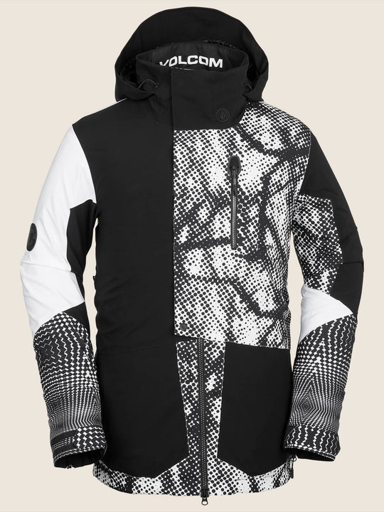 Chaqueta de snow Bl Stretch Gore  - Black White