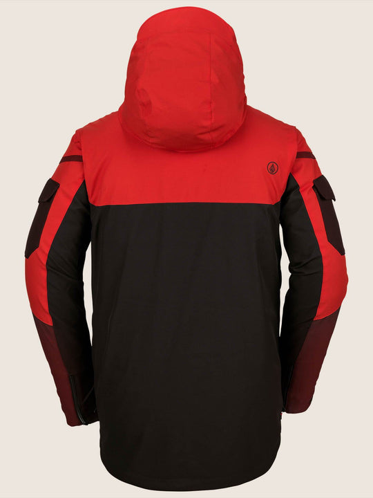 Chaqueta de snow Utility  - Black Red