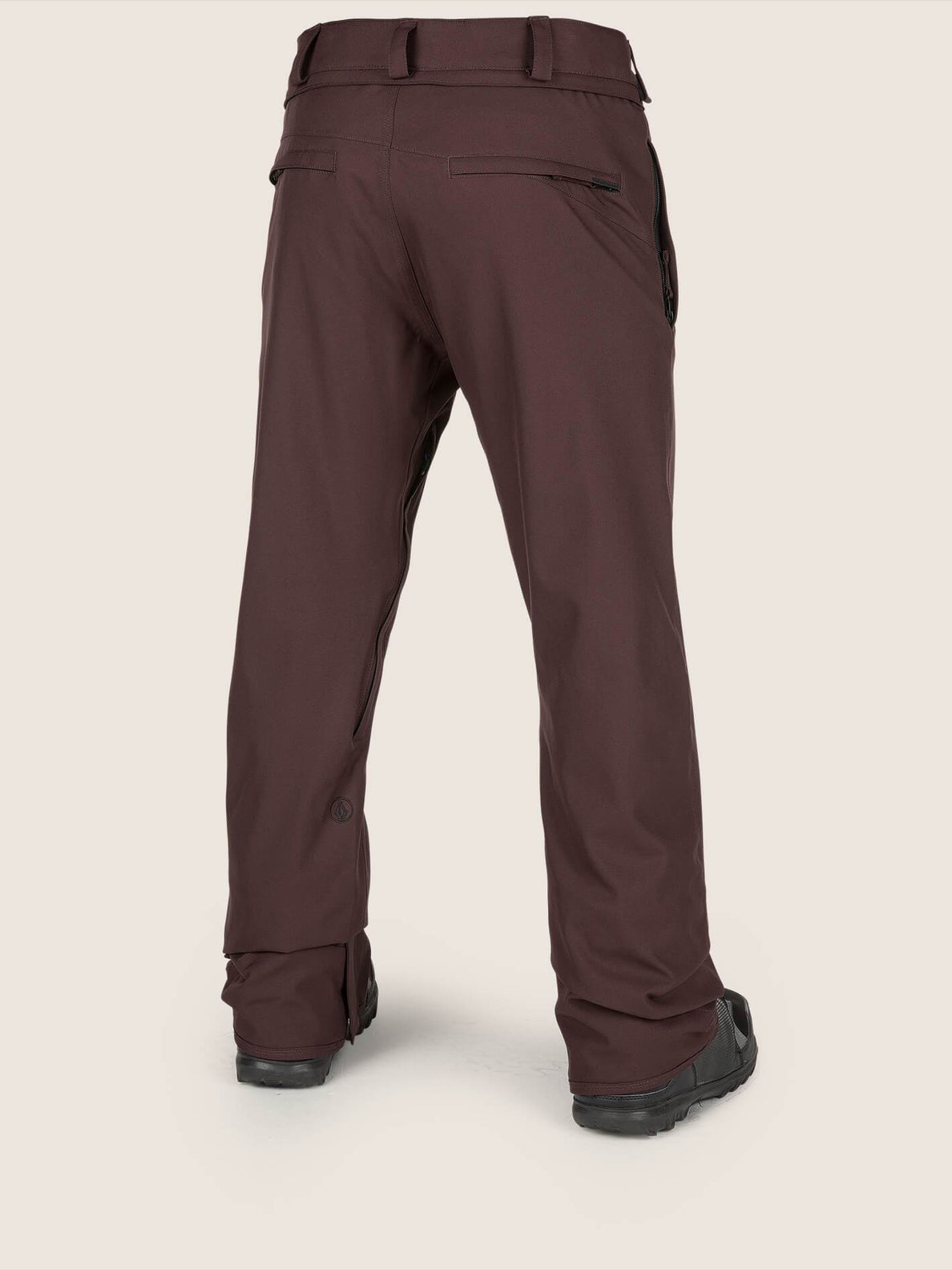 Pantalones De Nieve Chino Freakin - Black Red