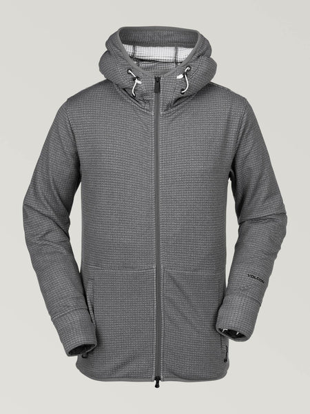 Sudadera con capucha Tech de Polartec - HEATHER GREY