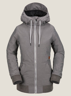Alesk Insulated Jacket - Charcoal