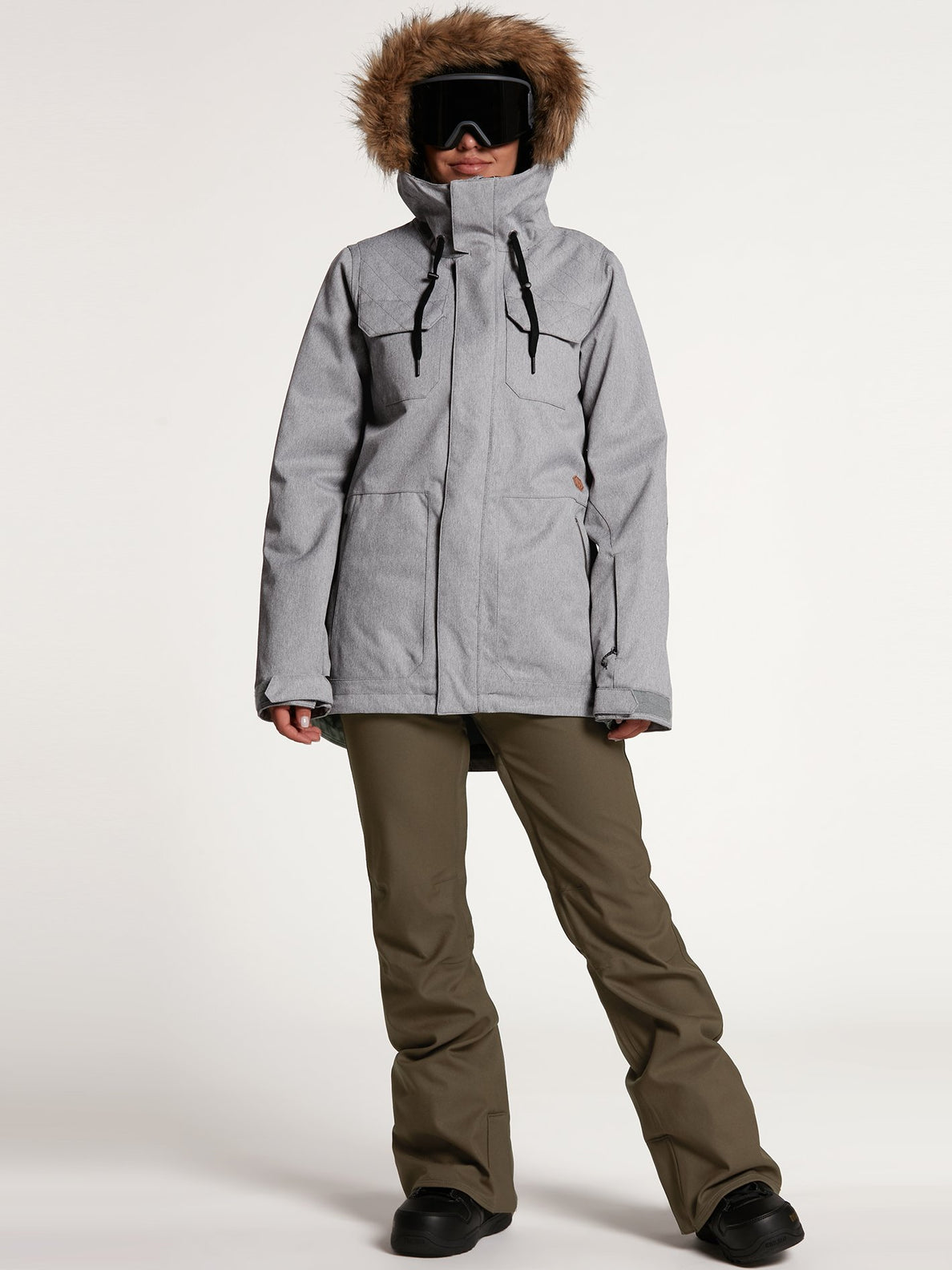 Shadow Insulated Jacket - Military (H0451913_MIL) [21]