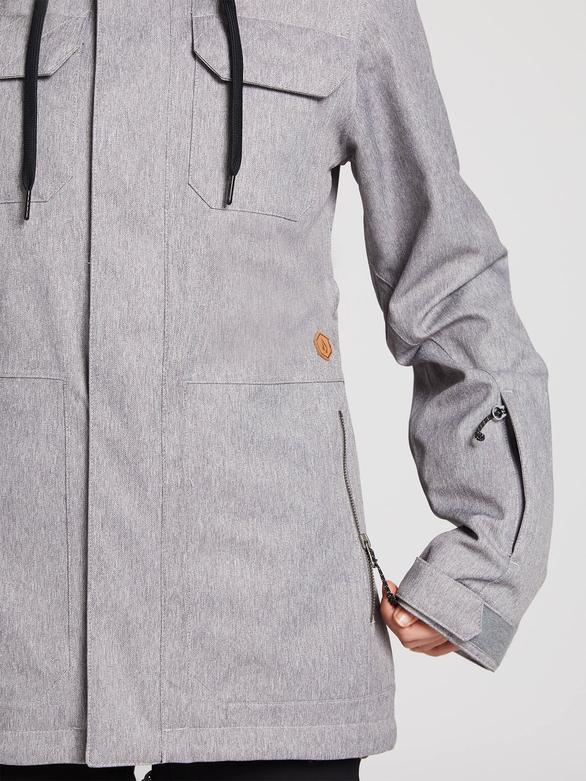Shadow Insulated Jacket - Military (H0451913_MIL) [5]
