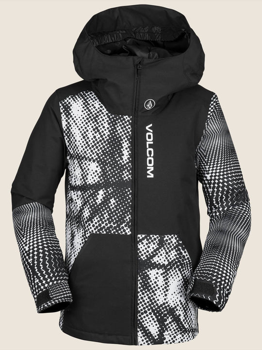 Vernon Insulated Jacket - Black White (Niňo)
