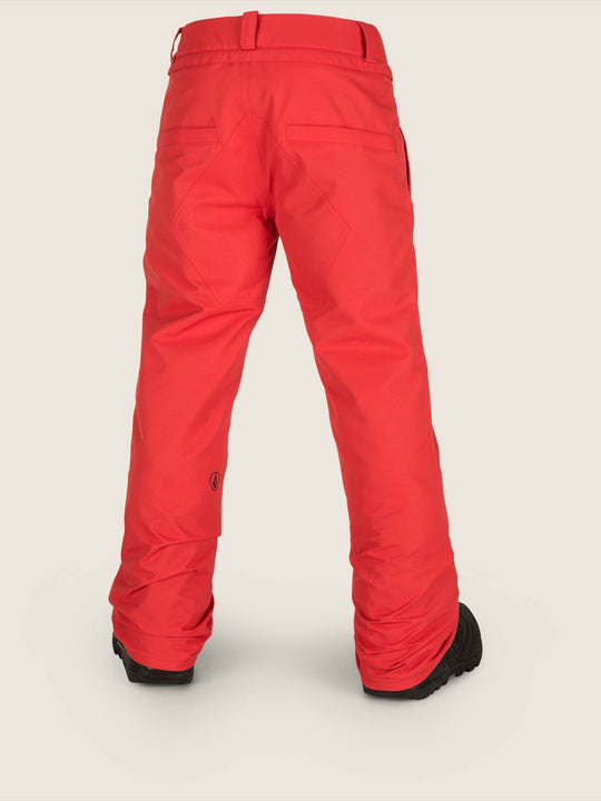 Freakin Snow Chino Pants - Fire Red (Niňo)