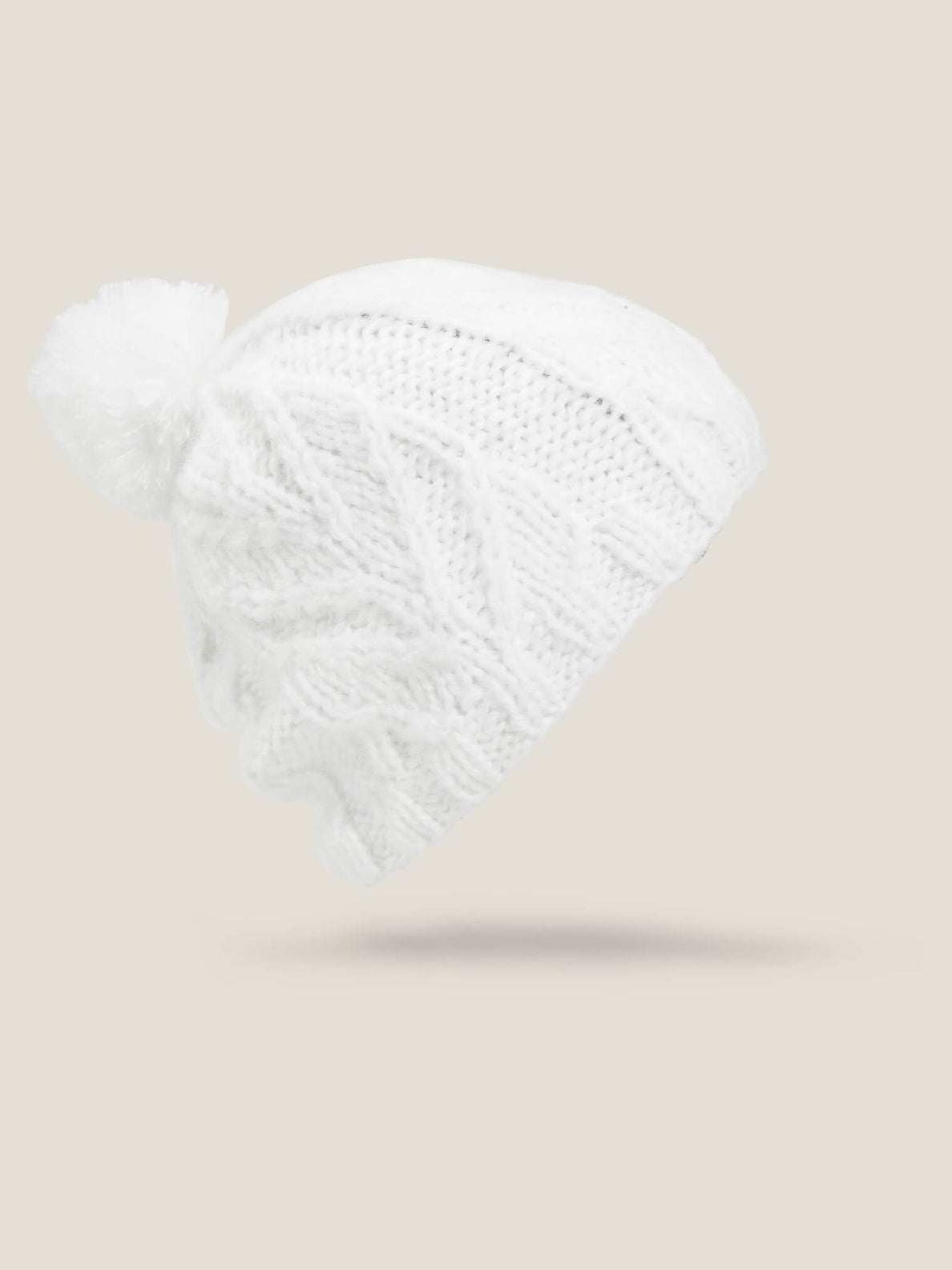 Gorro Leaf - White