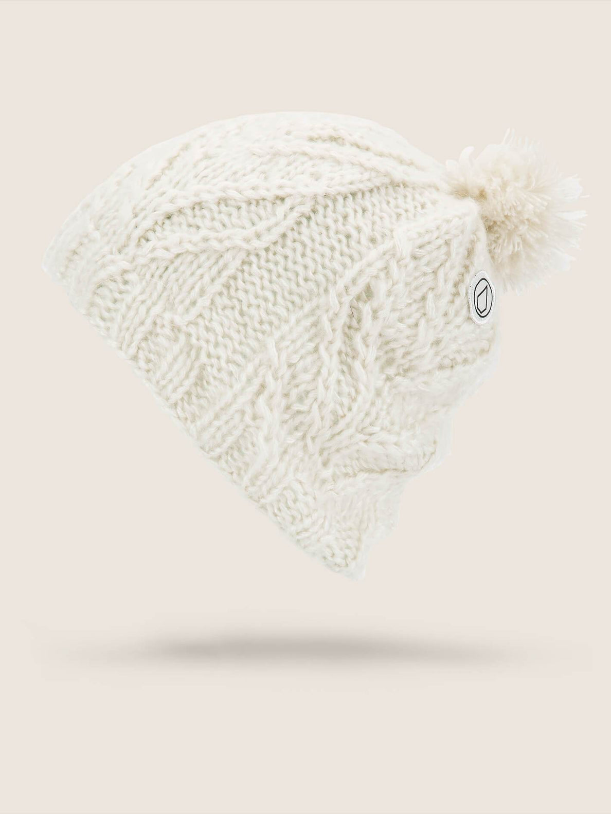 Gorro Leaf  - Bone