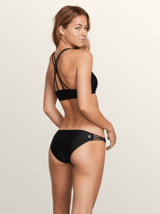 Simply Solid Full Bottoms - Black