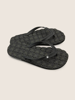 Sandalias Recliner Rubber 2 - BLACK