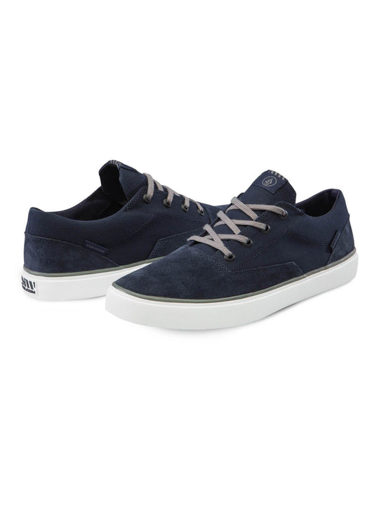 Zapatos Draw Lo Suede  - Blue Combo