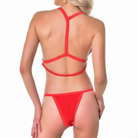 Image of Halter Two Pieces Bathing Suit - Itopfox
