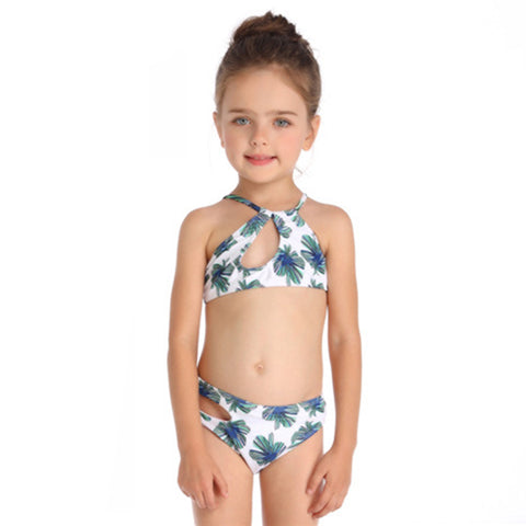 Image of Halter Two Piece Swimwear - Itopfox