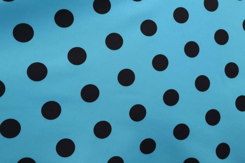 Long Sleeve Polka Dots Vintage Dress - Itopfox