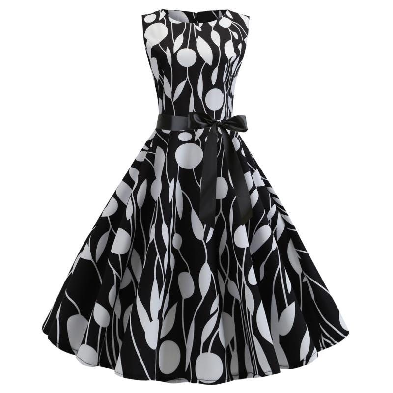 Audrey Hepburn 50s Retro Dress - Itopfox