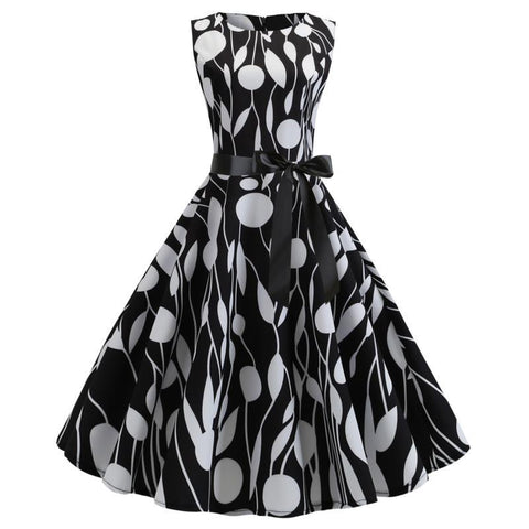 Image of Audrey Hepburn 50s Retro Dress - Itopfox
