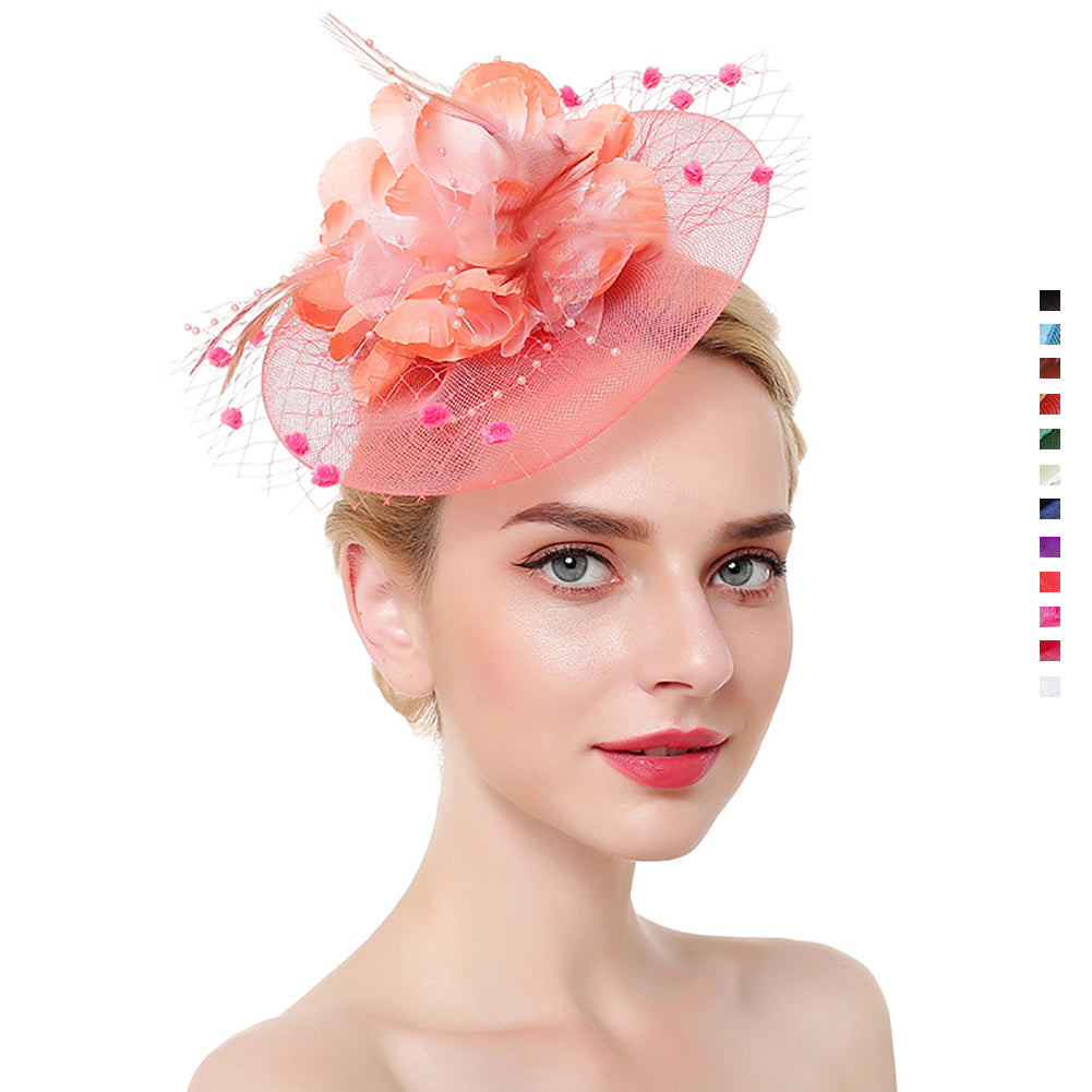 Bridal Cocktail Fascinators - Itopfox